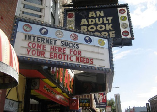Internet Sucks - Come Here For Your Erotic Needs