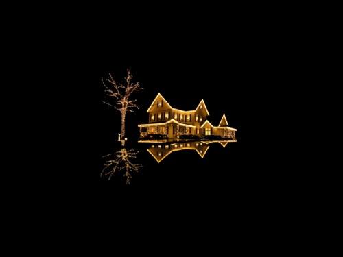 Floating Christmas House