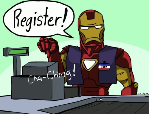 Iron Man - Register