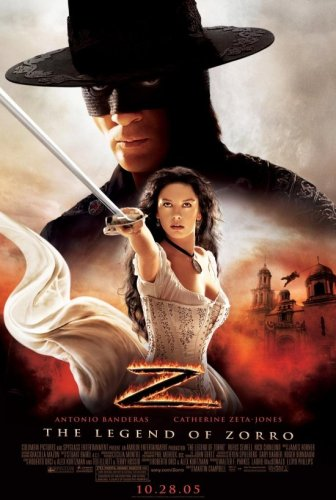 legend of zorro movie poster