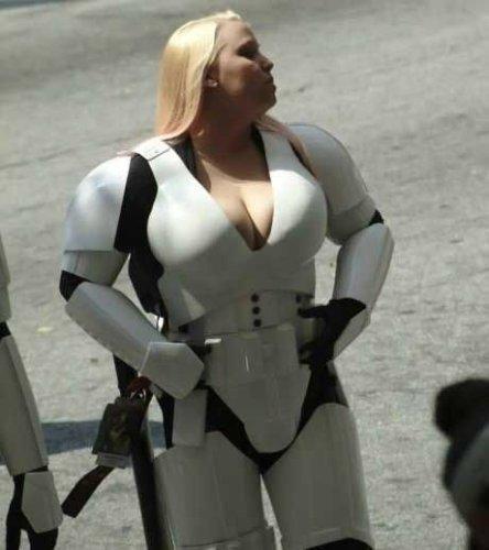 Busty Storm Trooper