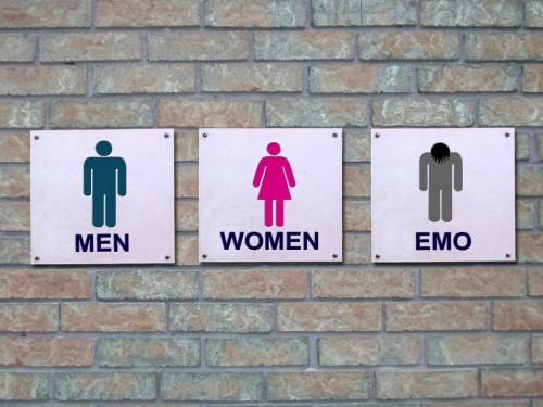 men, women, emo