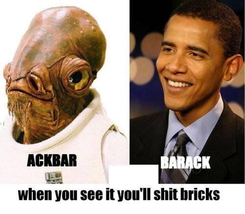 Ackbar Vs Barack