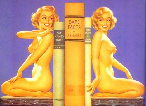 NSFW - Nude Bookends
