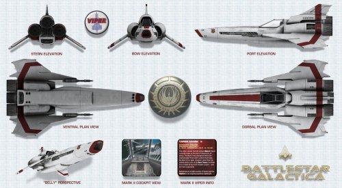 Battlestar Galactica Viper