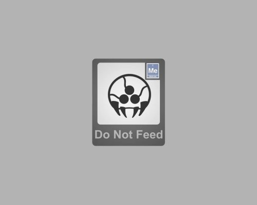 Do not feed the metroid