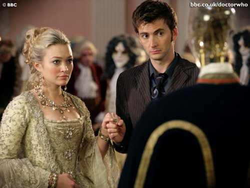 Dr Who With Fancy Woman