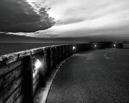 seaside path lights