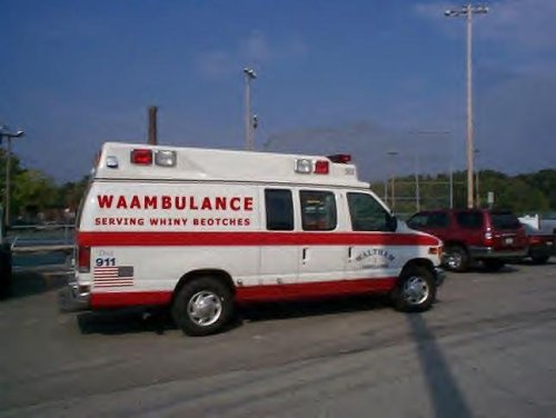 waambulance - serving whiny bitchs