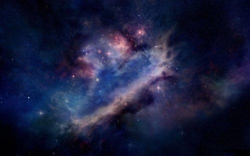 galactic star field
