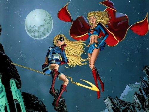 Supergirl and Stargirl