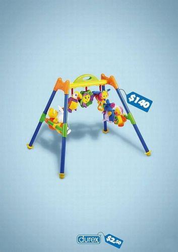 Durex baby toy advertisement