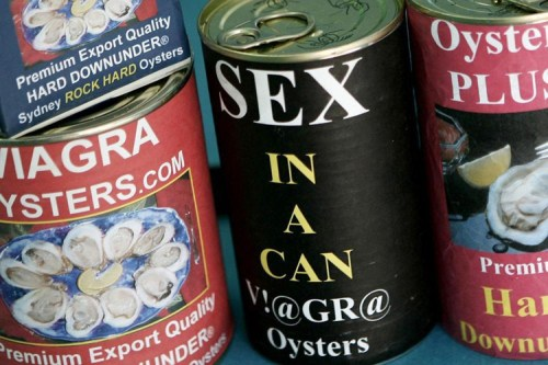 sexy in a can - viagra oysters