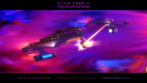 star trek II battle