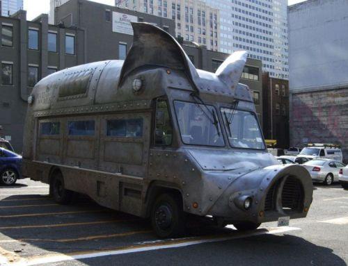 steel pig bus