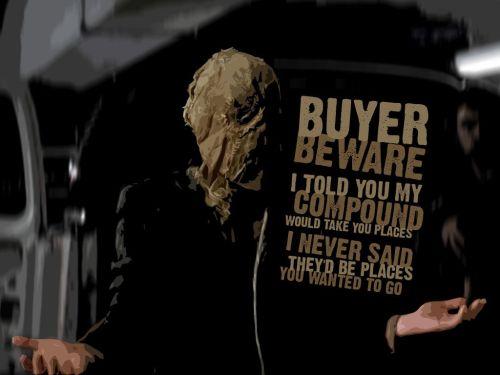 scarecrow - buyer beware