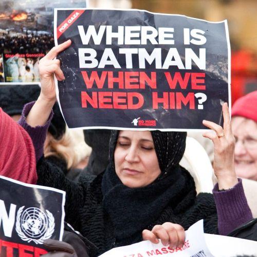 where is batman when we need him