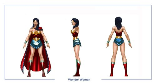 wonder woman character sheet