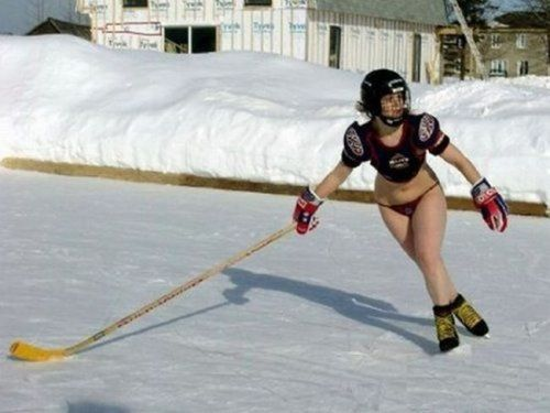 no pants hockey