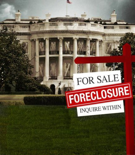 white house - foreclosure