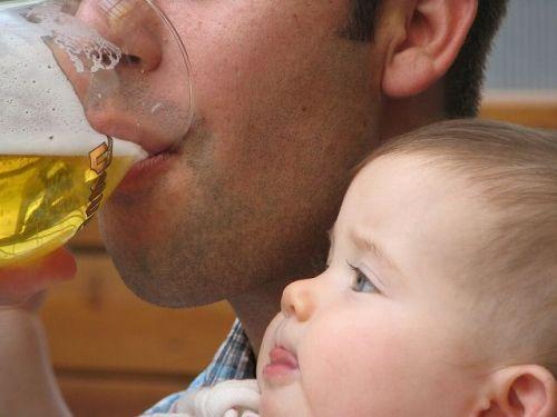baby wants beer