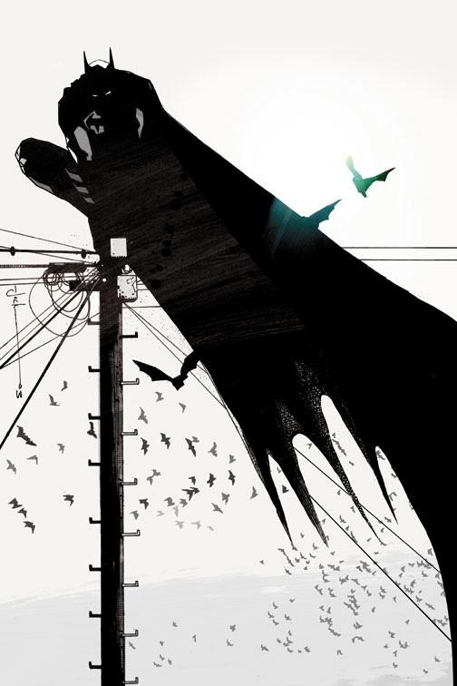 batman on a wire