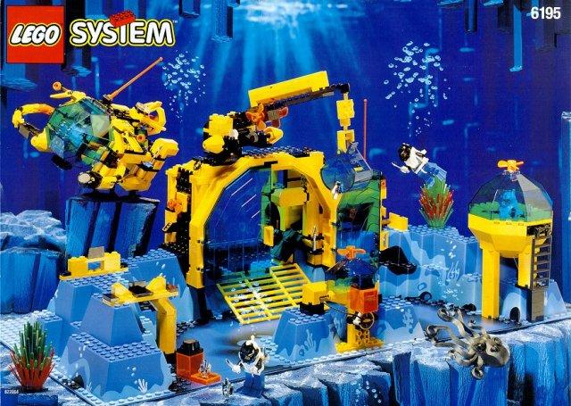 lego underwater set