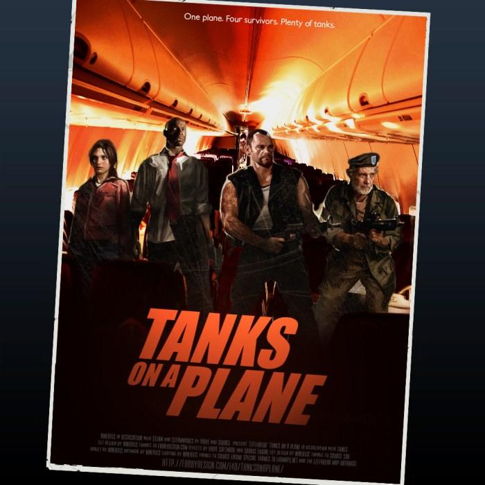 left for dead - tanks on a plane