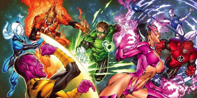 the lanterns have a fight