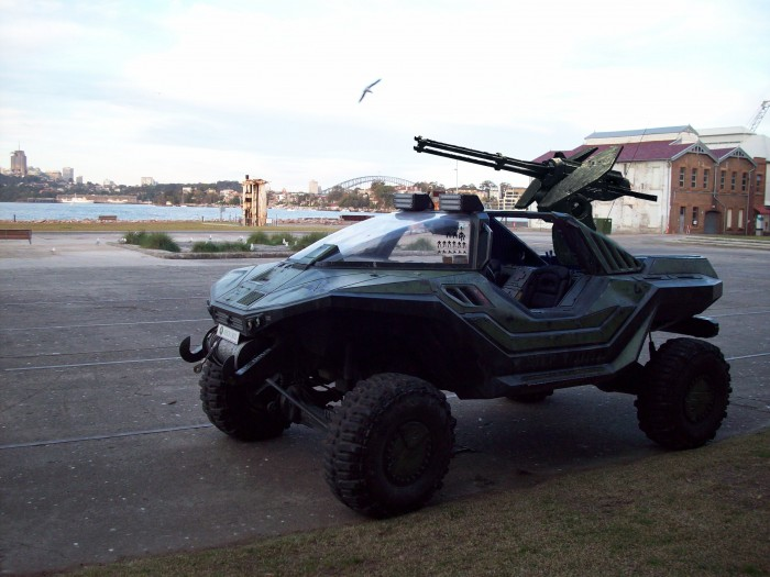 Real Life Halo Vehicles: Real Life Warthog From HALO