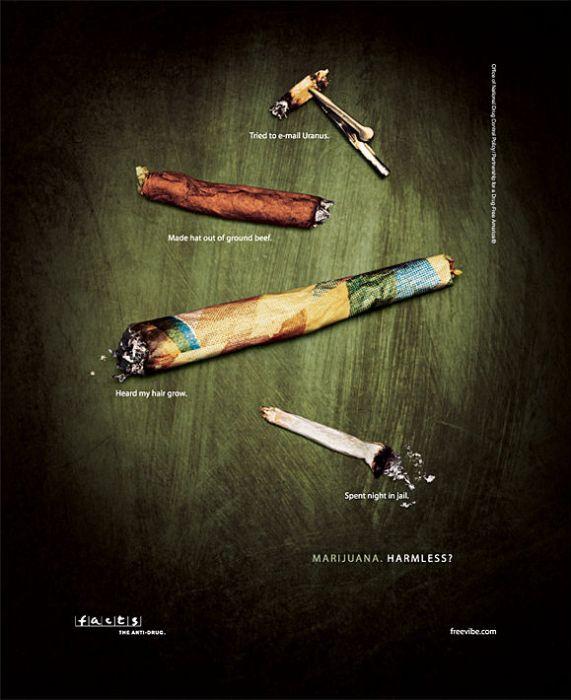 marijuana - harmless