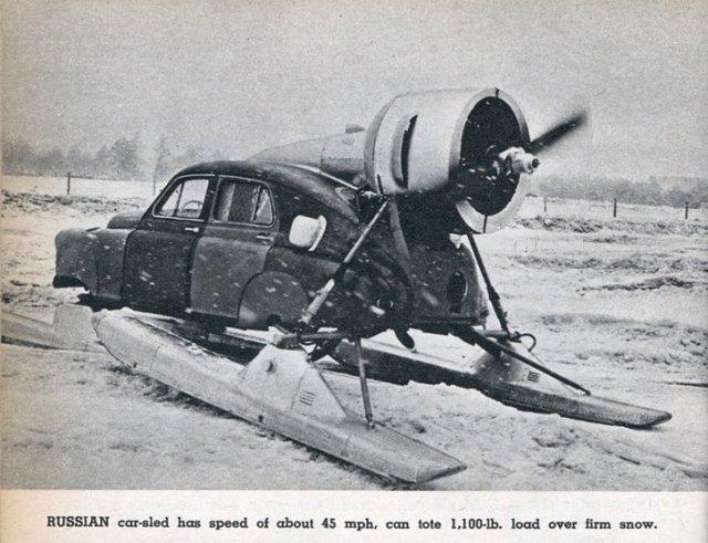 russian car-sled