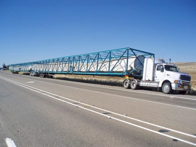 long truck trailer