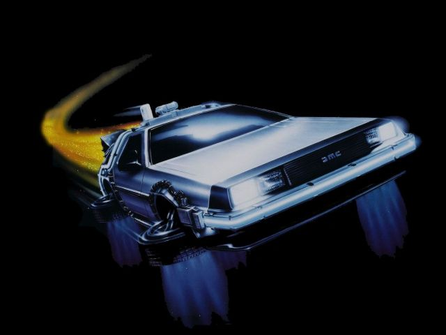 Delorean Wallpaper