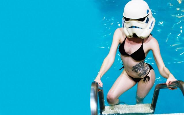 Storm Trooper Bikini Wallpaper