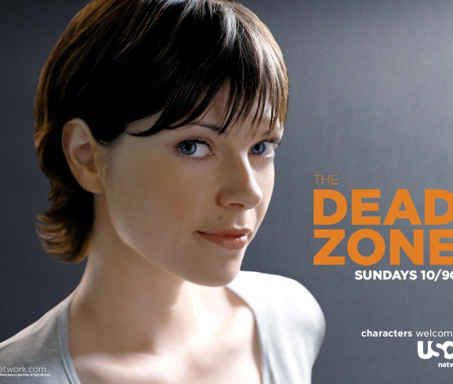 Nicole De Boer The Dead Zone Wallpaper Myconfinedspace