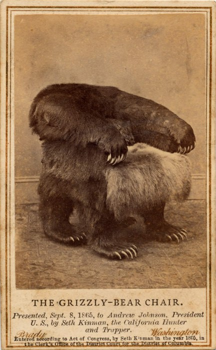 the grizzly-bear chair