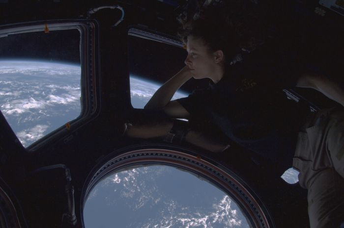 ISS cupola view wallpaper