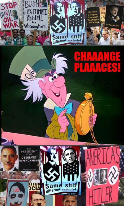 mad hatter - change places