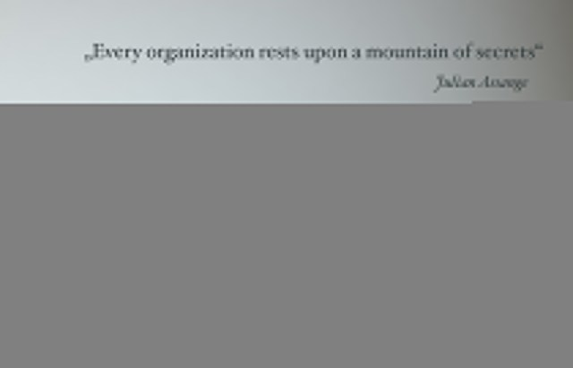 Every Organization rests upon a mountain of secrets