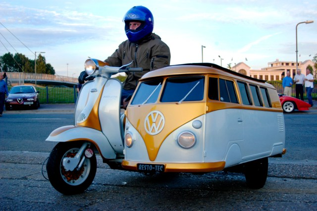 VW bus scooter