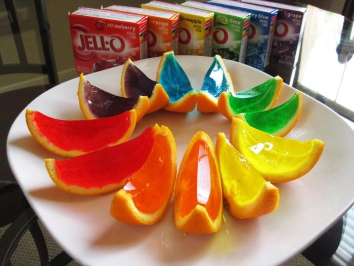 jello fruit