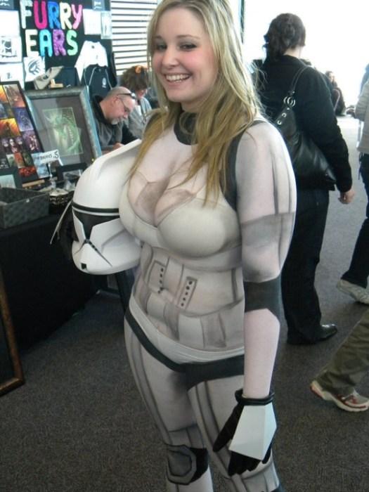 bikini storm trooper