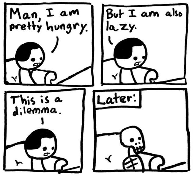 hunger dilemma