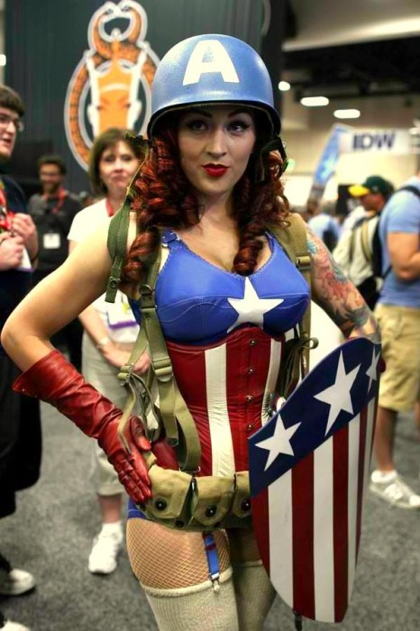 sexy captain america