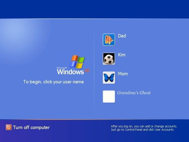 windows xp users