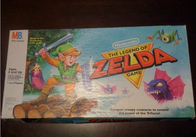zelda board game