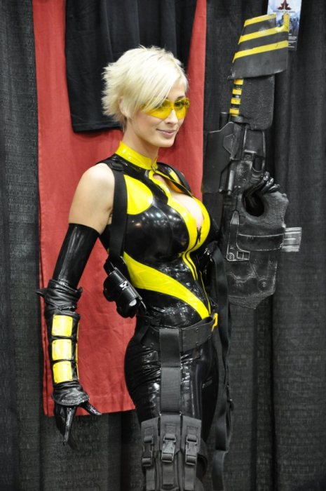 awesome cosplayer