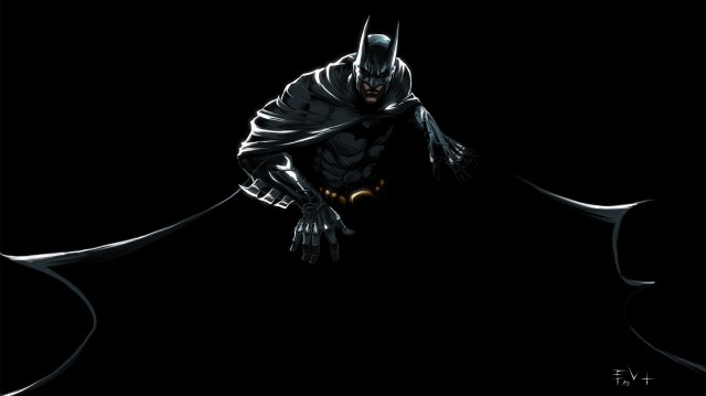 batman in shadow