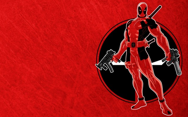 deadpool in red